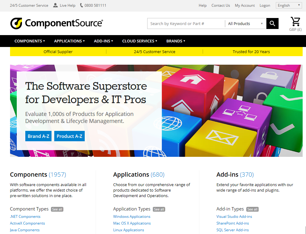 ComponentSource