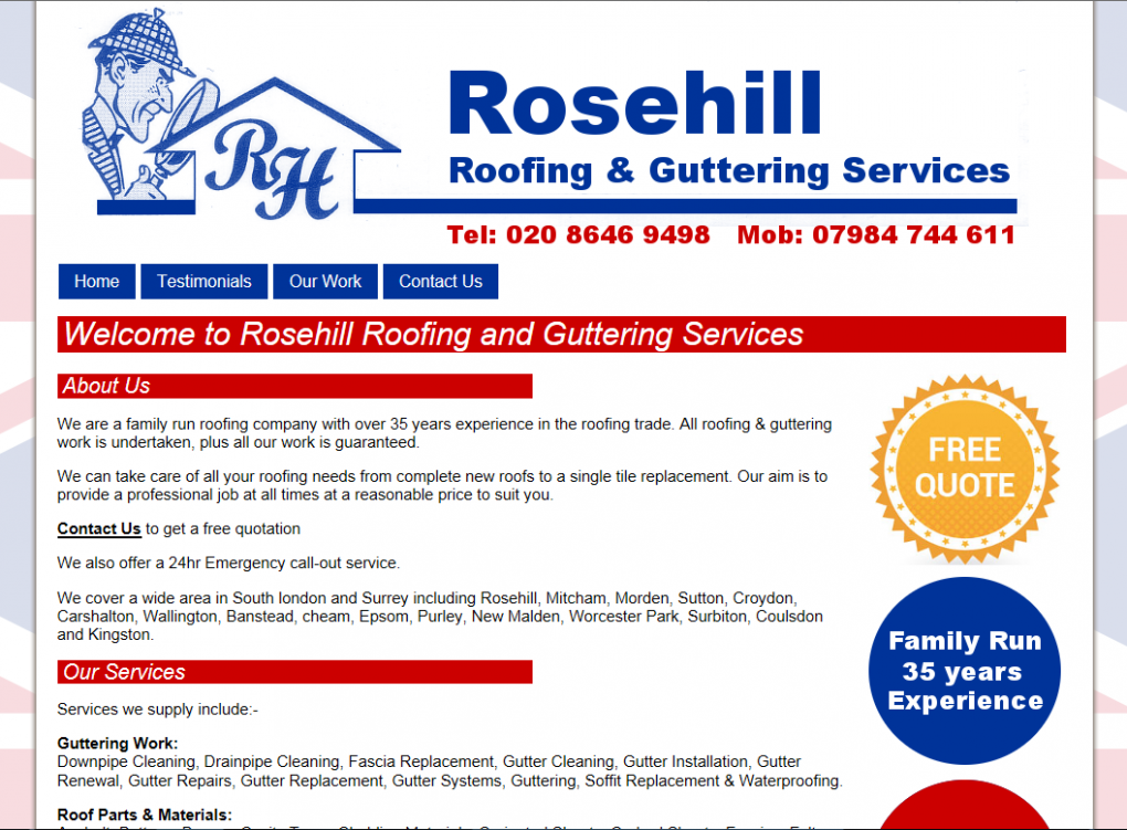 Rosehill Roofing and Guttering